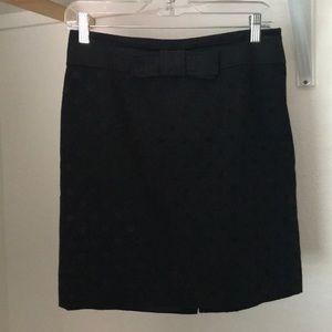 Black Loft pencil skirt